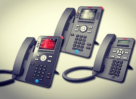 avaya J129, J169 and J179 series handsets